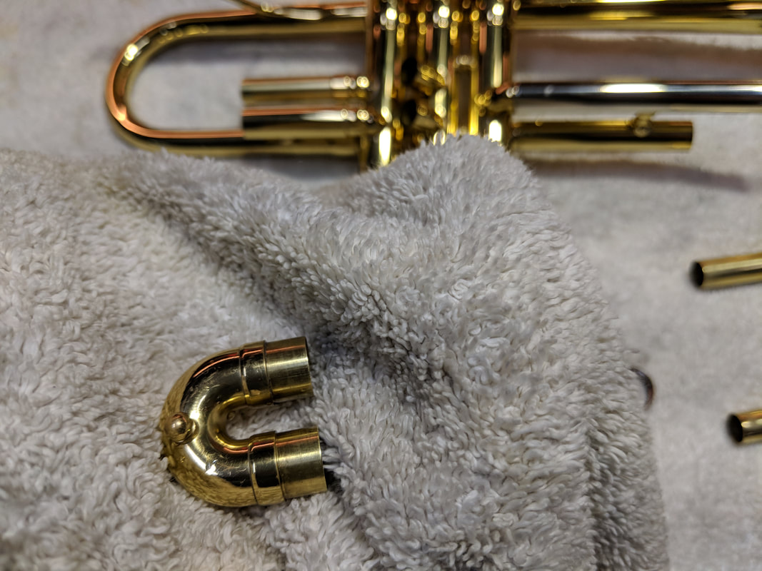 Trumpet Cleaning - IN TUNE MUSIC 02 9439 1143